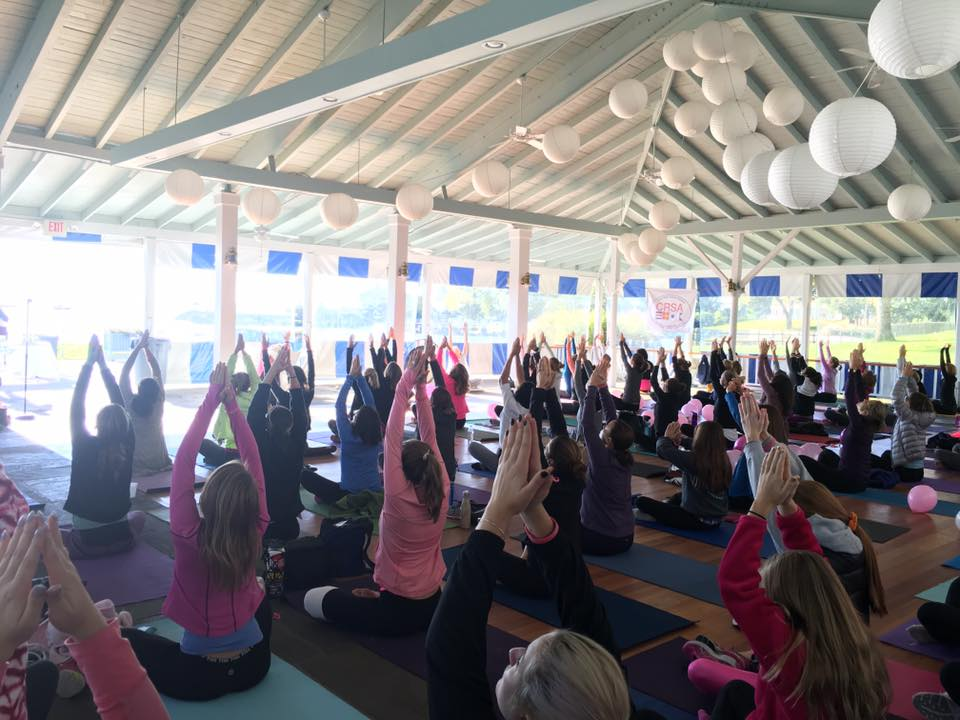 Yoga for a Cure - Charity founded by Mary Olson-Menzel