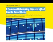 Networking Disasters