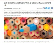 Killer Self-Assessment