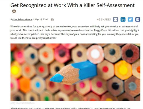 Get Recognized With a Killer Self-Assessment – Daily Worth 05/16